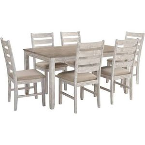Skempton Dining Room Table and Chairs (Set of 7) for Sale in Naples, FL