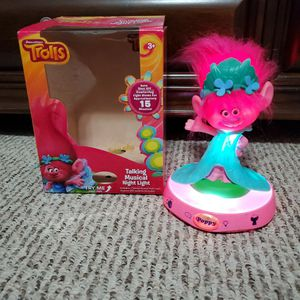 Trolls Poppy Musical Nightlight for Sale in McAllen, TX