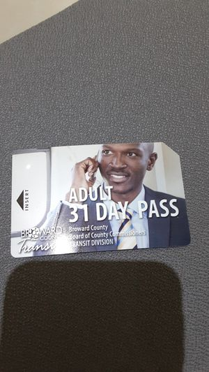 Monthly Broward County Buss Pass for Sale in Dania Beach, FL