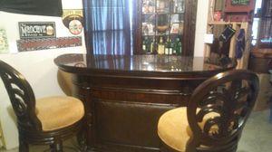 Exclusive bar / bar stools / liquor cabinet FREE DELIVERY for Sale in Atlanta, GA
