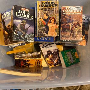 Louis Lamont Paperback Books for Sale in Hanford, CA
