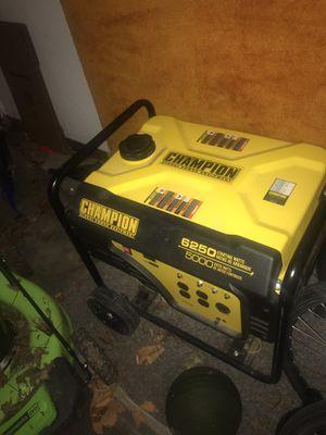 Champion 5000w Generator for Sale in Bentonville, AR