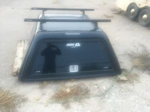 A.R.E Utility Camper Shell w/ ladder rack for Sale in Tucson, AZ
