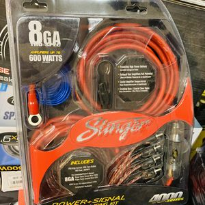 Stinger 8 Gauge Amp Installation Kit for Sale in San Bernardino, CA