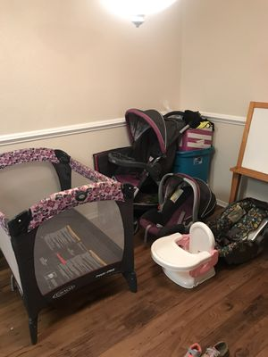 Baby play pin Stroller n car seat for Sale in Columbia, SC