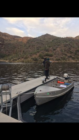 14' Lone Star and 18hp Outboard for Sale in Mesa, AZ