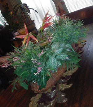 Decorative fake plant for big table for Sale in St. Louis, MO