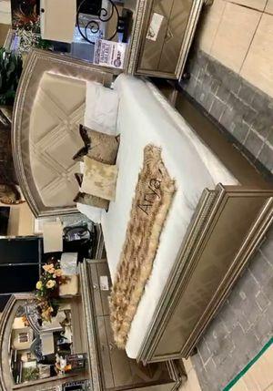 🔥💯🆕^Best Deals💯🆕Best Price$Cristal gold bedroom set for Sale in Columbia, MD