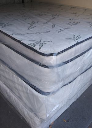 🎉🎉HUGE BAMBOO LUXURY PILLOW TOP MATTRESS BLOWOUT SALE🎉🎉 for Sale in Orlando, FL