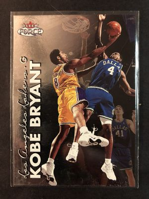 Kobe Bryant 2000 FLEER FORCE Basketball Card. Kobe Bryant LA LAKERS Basketball Trading Card for Sale in Chicago, IL