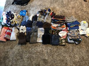 Baby Boy Clothes fall/winter 9-12 months for Sale in Somerset, OH