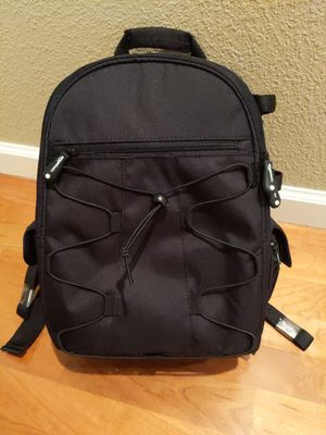 AmazonBasics Backpack for SLR/DSLR camera & access. for Sale in Chico, CA
