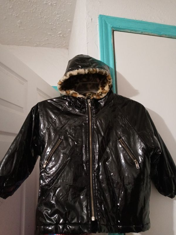 FREE Girls Black Sesame Street Coat Size 5T