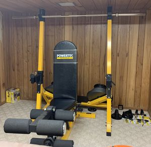 Gym equipment,powertec, perfect for summer body! for Sale in Darien, IL