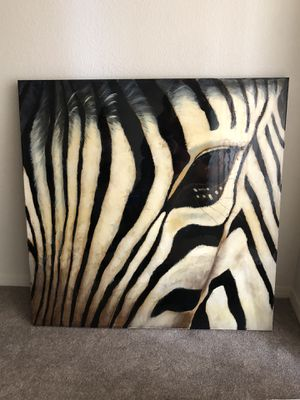 Zebra picture for Sale in Fresno, CA
