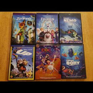 Variety of disney animated movies for Sale in Damascus, OR