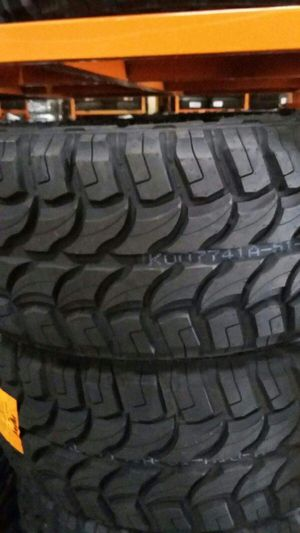 4 new tires 33x12.50 r 20 RDR $650 for Sale in Escondido, CA
