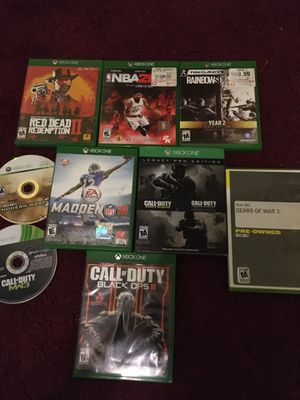 9 Xbox one games for Sale in Cleveland, OH