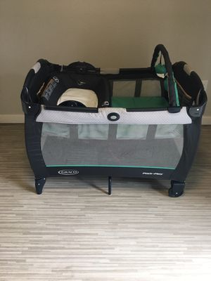 GRACO PLAY N' PACK PLAYYARD AND SLEEP PLACE for Sale in Tacoma, WA
