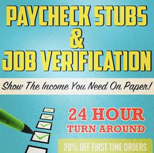 Paycheck stubs!!! for Sale in Long Beach, CA