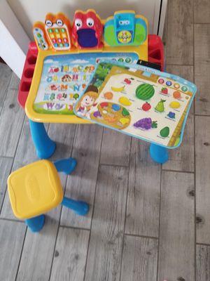 Kids activity desk vtech for Sale in St. Cloud, FL