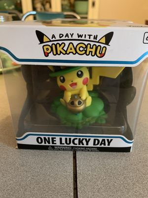 a day with pikachu ONE LUCKY DAY. pokemon center exclusive for Sale in Las Vegas, NV