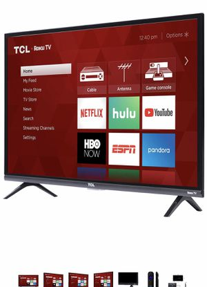 TCL 32S327 32-Inch 1080p Roku Smart LED TV (2018 Model) for Sale in Maryland Heights, MO