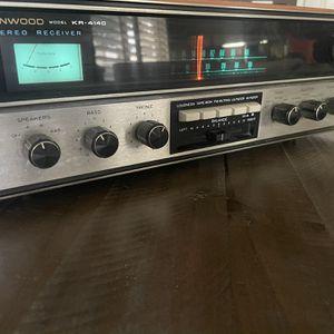 Kenwood KR-4140 Vintage AM-FM Stereo Tuner Amplifier KR 4140 NICE! Works for Sale in Chula Vista, CA