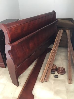 Bed Frame and Headboard for Sale in Center, TX