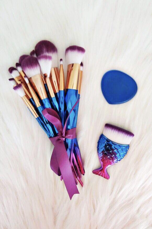 Diamond set!! 16 brushes 💎💜