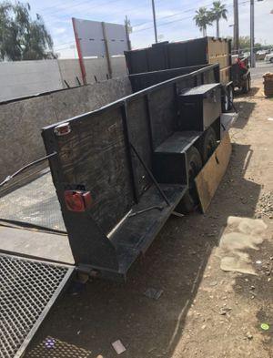 Dual axle utility trailer for Sale in Surprise, AZ