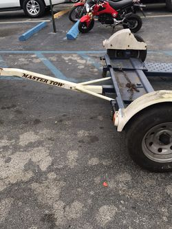 Master Tow Car Dolly For Sale Perfect Condition With Title for Sale in Miami,  FL