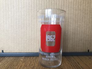 Collectable 1962 Football Appreciation Glass for Sale in London, OH