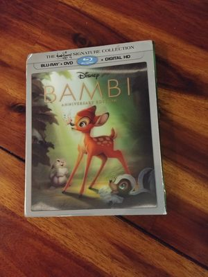 Brand new Bambi movie - Anniversary Edition for Sale in Seattle, WA