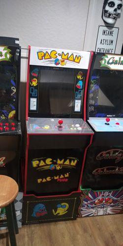 Pac Man Arcade 1 Up w/ riser . for Sale in Gaithersburg,  MD