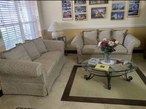 Sofas and tables -MOVING SOON for Sale in Miami, FL