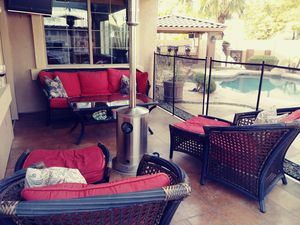 Outdoor couch, chairs and table for Sale in Chandler, AZ