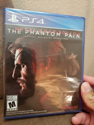 Metal Gear 5 The Phantom Pain - PlayStation 4 PS4 for Sale in San Antonio, TX