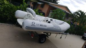 READ 2006 Zodiac Pro Jet 350 Yamaha Engine with 2019 Trailer READ for Sale in Miami, FL