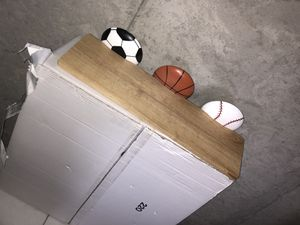 4 sport wall shelves for Sale in Schaumburg, IL