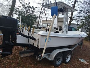 1986 Aquasport 196 2001 Johnson 150hp for Sale in Suffolk, VA