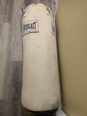 Everlast Punching Bag 70 lbs for Sale in Las Vegas, NV