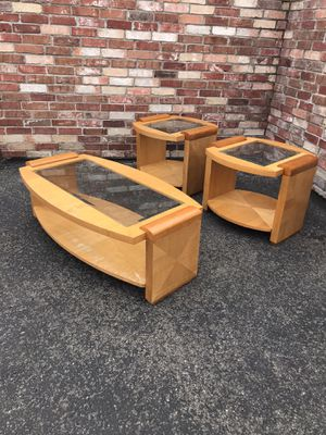 Art Deco tables brown for Sale in Westminster, CO