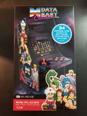 "My Arcade Data East Classics Mini 10"" Retro Arcade Machine! for Sale in Davie, FL"