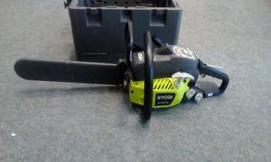 "RYOBI 16"" Gas Chainsaw With Heavy Duty Case #RY3716 for Sale in Seminole, FL"