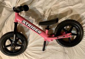 Strider classic balance bike for Sale in Tacoma, WA