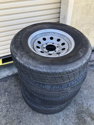 Trailer Wheels Hartland Radial ST235/80R16 for Sale in Lake Forest, CA