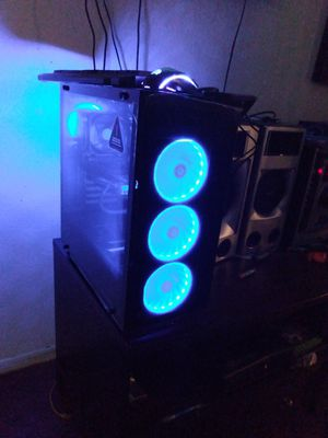 RGB Gaming Computer (Complete) for Sale in Fontana, CA