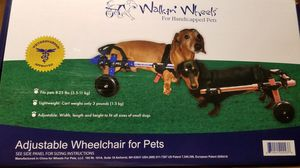 Wheel chair for dogs 8-25lbs for Sale in Perris, CA