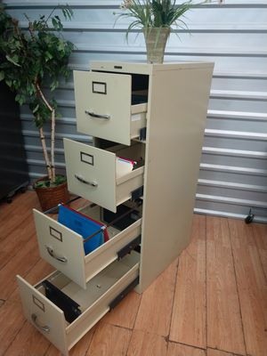 File Cabinet, Letter Size Cabinet, Quality USA , Tan Color for Sale in Plano, TX